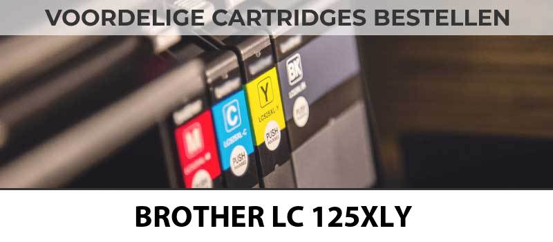 brother-lc-125xly-geel-yellow-inktcartridge