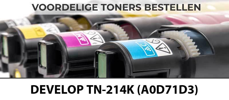 develop-tn-214k-a0d71d3-zwart-black-toner