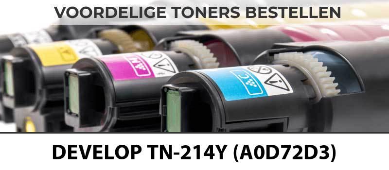 develop-tn-214y-a0d72d3-geel-yellow-toner