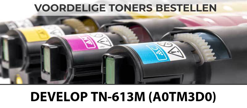 develop-tn-613m-a0tm3d0-magenta-roze-rood-toner