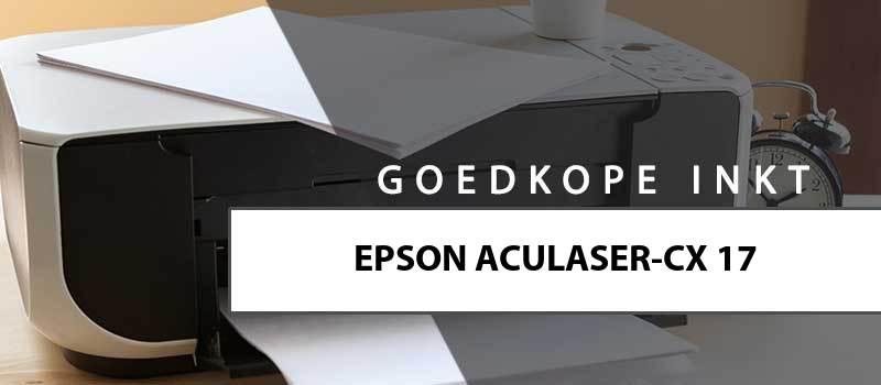 printerinkt-Epson AcuLaser CX17