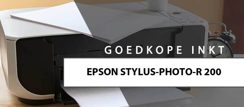 printerinkt-Epson Stylus Photo R200