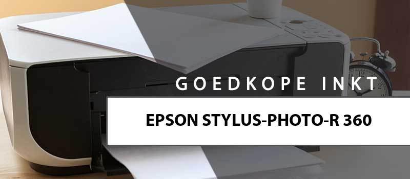 printerinkt-Epson Stylus Photo R360