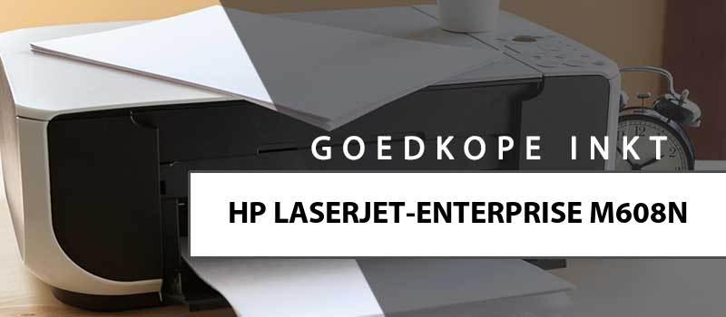 printerinkt-HP Laserjet Enterprise M608n