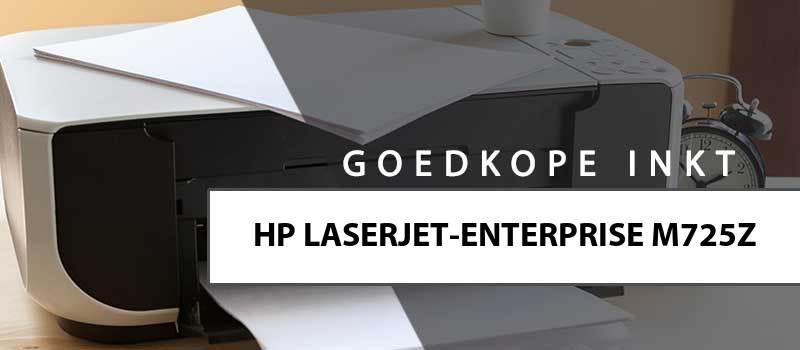 printerinkt-HP Laserjet Enterprise M725z