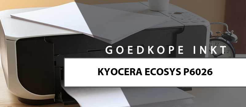 printerinkt-Kyocera Ecosys P6026