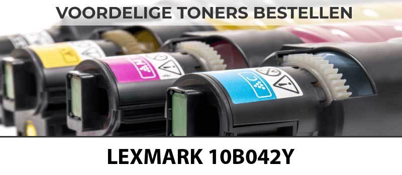 lexmark-10b042y-geel-yellow-toner